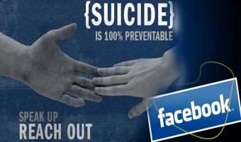 Facebook is going to bring suicides rate down!