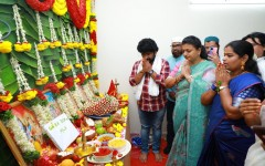 APIIC Chairman Smt.Roja attends the opening cermony of Nadiyas Entertainment Production No - 1