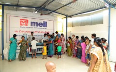 'MEIL's mark in Social Sector