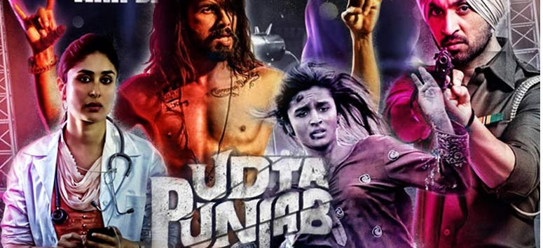 Udta Punjab On Banners with 'A' Certificate
