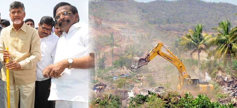 Amaravati capital construction and Polavaram Project are in trouble !!!