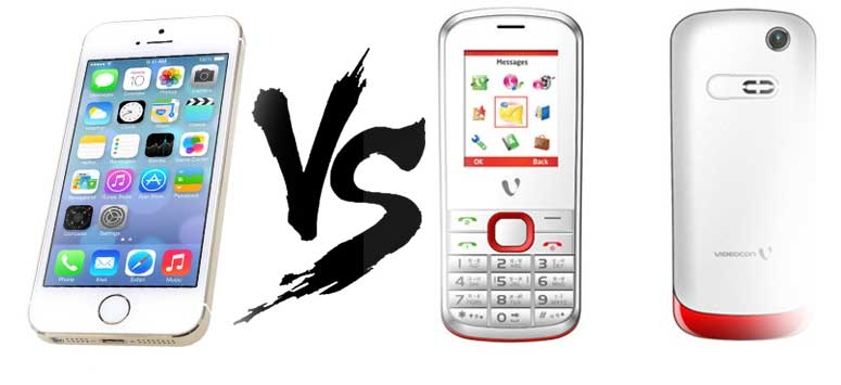 Why Rs 800 feature phone is better than Iphone ?