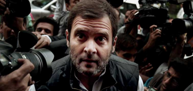 "Rahul accused government indulging ""vendetta Politics"""