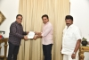 Aditya Music has donated Thirty-one Lakhs to Telangana CM Relief Fund