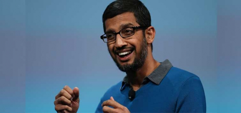 Google CEO Sundar Pichai come out against Trumps tirade