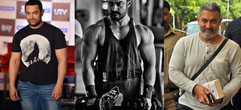 Aamir Khan Reveals Muscular Look For Dangal