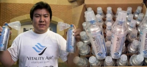 Demand for Air bottles in China
