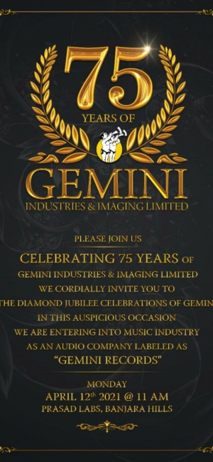 Prestigious Gemini Group To Enter Music Industry