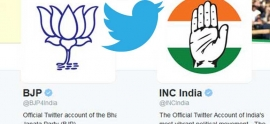 BJP and Congress engaged with Twitter battle