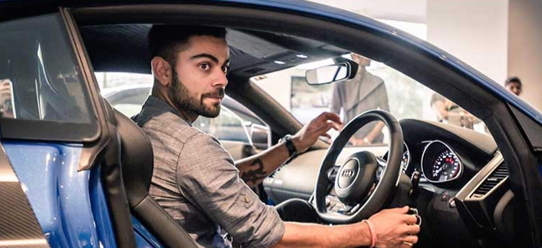 Kohli gets Rs 2 crore car