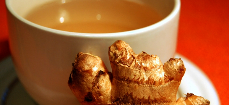 Take Ginger tea and be happy